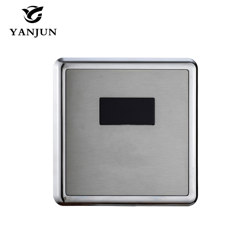 touchless automatic sensor toilet flush valve for wc Yanjun  Automatic Flush Valve Concealed Sensor Urinal Flusher DC&AC YJ-6314
