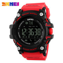SKMEI Men Smart Watch Android IOS Remote Camera Outdoor Pedometer Sports Waterproof Call SNS Reminder Digital
