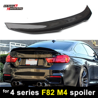M4 F82 Rear Deck Spoiler Carbon Fiber PSM Style Spoiler Wing for BMW 4 Series M4 F82 420i 435i 440i 2 door Coupe
