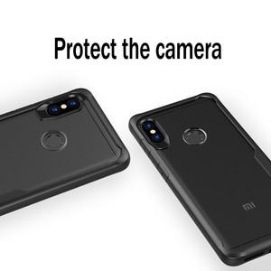 Image 4 - Heyytle противоударный чехол для Xiaomi Redmi Note 5 6 Pro Прозрачный чехол для Xiaomi Pocophone F1 Max 3 Mix 2 s 8 Armor Case