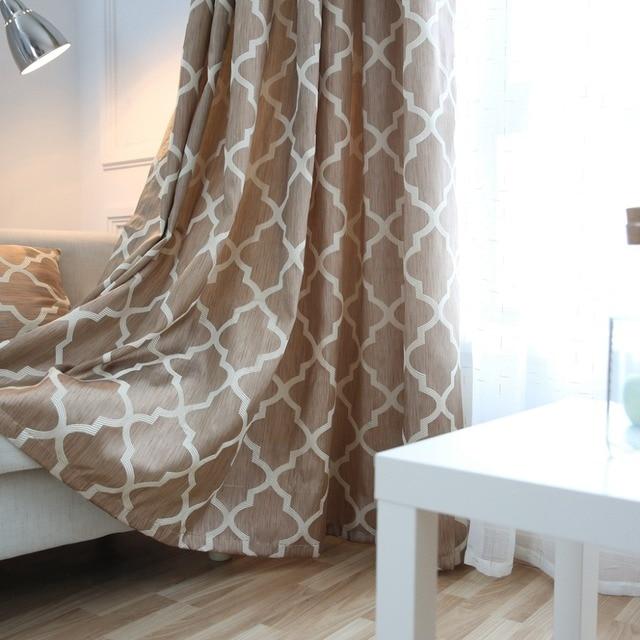 Cortinas modernas de la ventana decoraci n del hogar moda - Telas de cortinas modernas ...