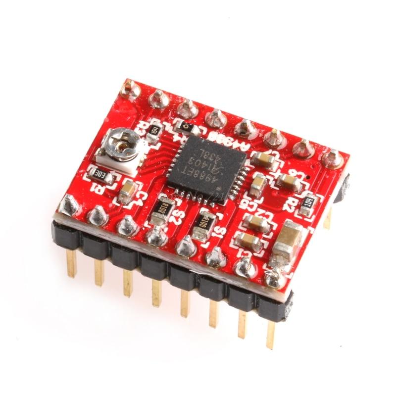 5Pcs A4988 Stepper Motor Driver Module 3D Printer Step Stick For RAMPS Red Dropship