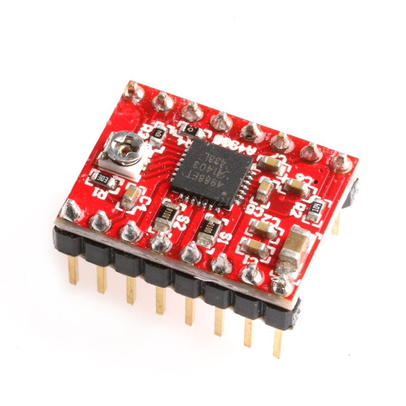 5Pcs A4988 Stepper Motor Driver Module 3D Printer Step Stick For RAMPS Red