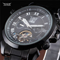 Top Brand Men's Multi Function JARAGAR Self-winding Mechanical Watch Full Steel Clocks Male Wrist Watches relogio masculino