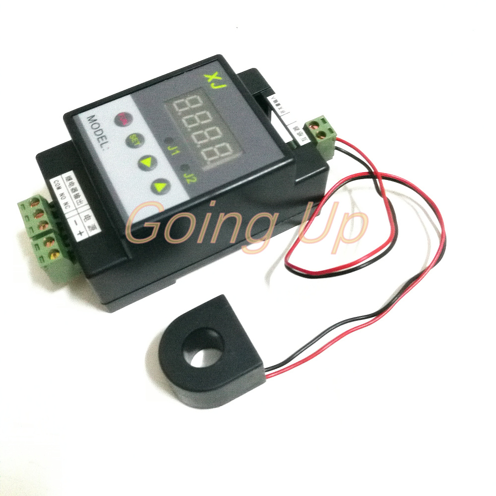 New Dc 12v 5a Overcurrent Protection Sensor Module Ac Current Alarm Relay 50a Detection Output Upper And Lower Limit Delay Can Be Set Up