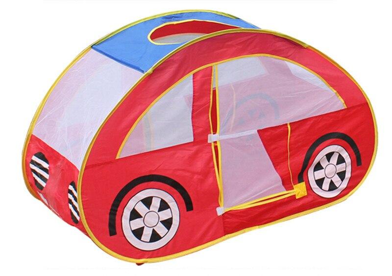 Nouveauté voiture modèle Portable enfants tente intérieure extérieure jouets, nouveau Design jouer tente jouets pour enfants