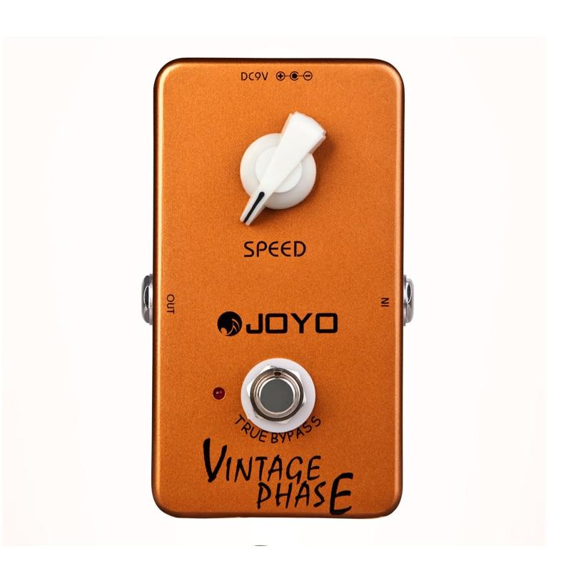 JOYO JF-06  Vintage Phaser guitar effect pedal phaser guitar effect stompbox sounds of  Van Halen wide space effect true bypass van halen remastered cd