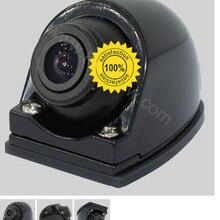 Новейшая модель 360 года: Автомобильная камера заднего вида+ Камера Переднего Вида, поворотная Передняя Задняя сторона, боковая камера u-типа для подключения DVD/монитора парковки