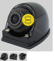 Newest 360 Car Rear+front view Camera position aviable front back side U boat Type Side Camera to connect DVD/monitor parking