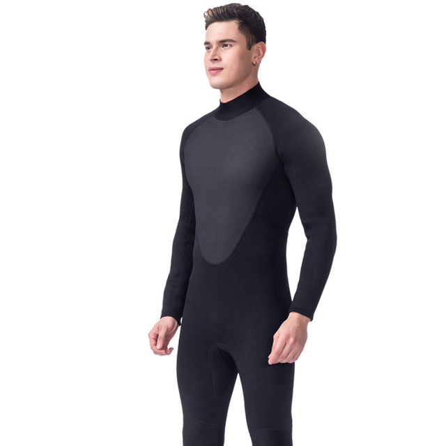 LIFURIOUS Professional Neoprene Diving Suit 3MM Men Full Body Surfing Wetsuits Scuba Rash Guards Jumpsuit Winter Keep Warm Suits
