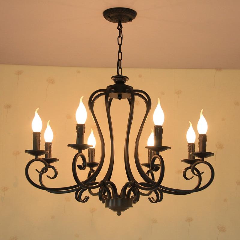 110 V - 240 V kintamosios srovės 8 žvakių šviestuvai Sietynai E14 - Vidinis apšvietimas