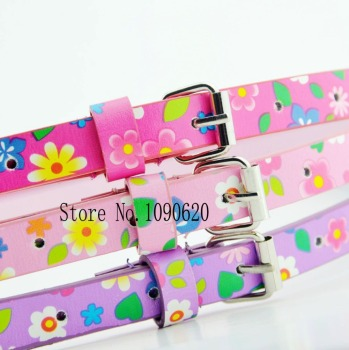Kids flower belt cute waist belt for children students girl belt fashion dress decoration  75cm long