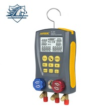 LM120 Refrigeration Digital Manifold Gauge Meter HVAC Vacuum Pressure Temperature Tester Leakage Test