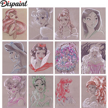 5D Full Diamond Painting Kits Prince Beast Kreuzsticken Dekorationen Geschenke