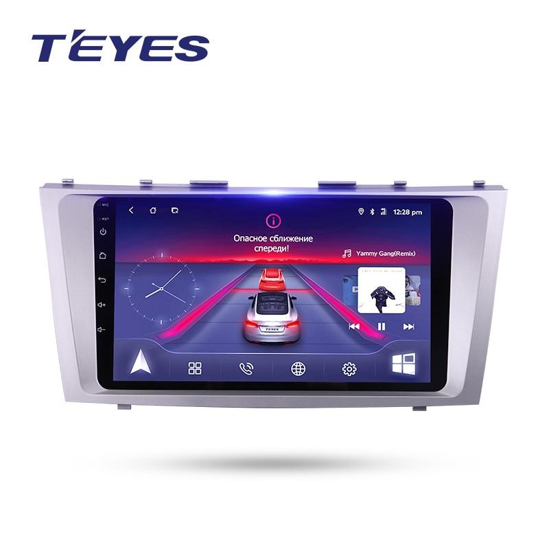 TEYES Штатное Головное устройство Toyota camry GPS Android aвтомагнитола магнитола 2 din автомагнитолы 2DIN Андроид для Toyota camry 2006 2009 2010 2011 camry 40 штатная магни...