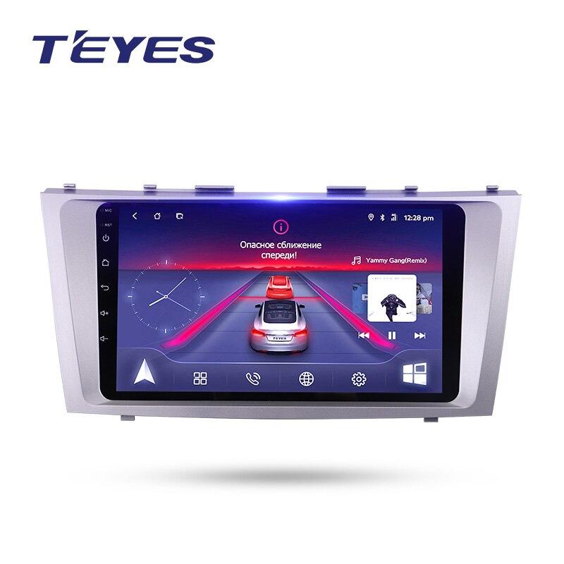 TEYES Voiture Multimédia NO 2 din Vidéo PlayerNavigation GPS Android 4g Pour Toyota Camry de Navigation wifi voiture radio