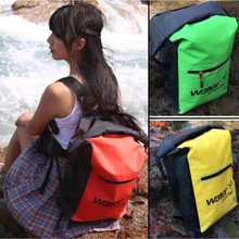 25L Outdoor Waterproof Swimming Bag Backpack Bucket Dry Sack Storage Bag Rafting Sports Kayaking Canoeing Travel Waterproof Bag