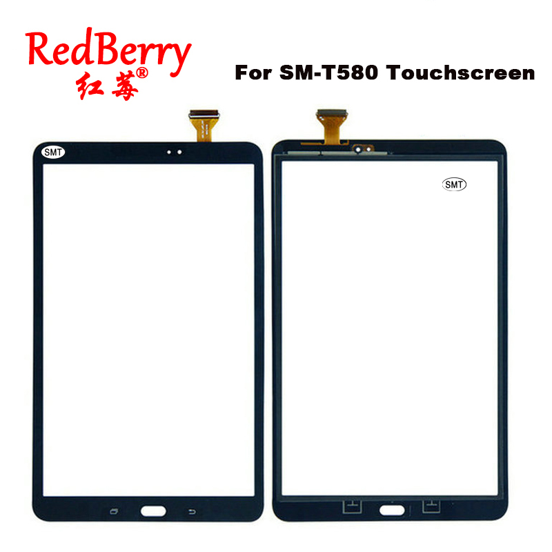 For Samsung Galaxy Tab A 10.1 SM-T580N T580 Touch Screen Glass Digitizer Tablet Touch Sensor panel Replacement Free Shipping 14 0 free wholesale touch screen digitizer glass for for samsung ativ book 5 np540u4e k01us ultrabook digitizer mcf 140 0847 v2
