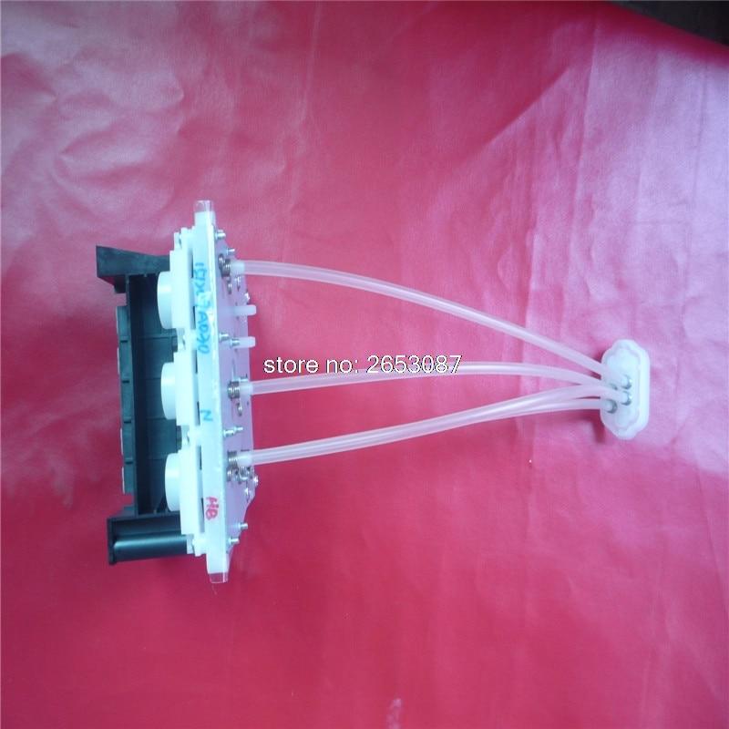 Original new dye ink damper for Epson SC-S30680 SC-S30600 SC-S30610 SC-S30650 SC-S30670 SC-S30680 connecter INK Tube assembly