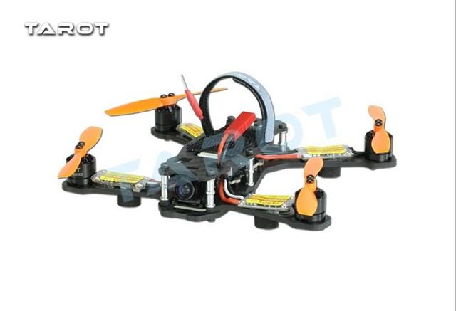 Tarot corrida tl150h1 150mm 4-axis quadcopter esc do motor da hélice de fibra de carbono quadcopter avião com câmera combo f18648