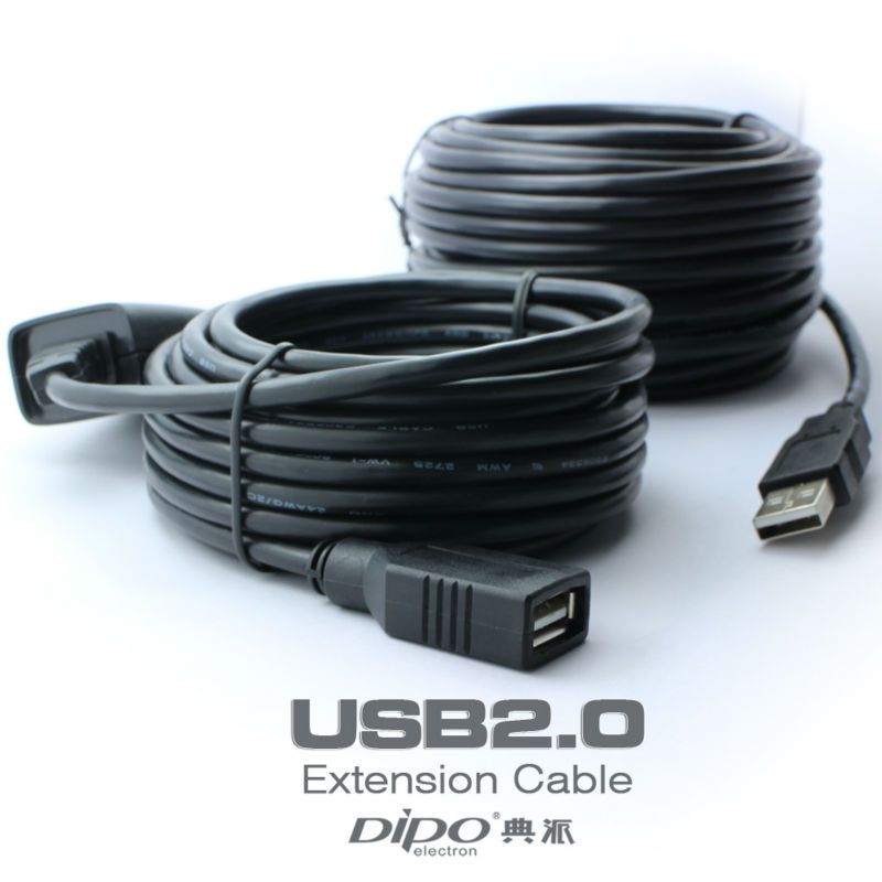 30m 98.4FT USB extension cable AM to AF high speed usb2.0 cables with signal amplifier usb 3 0 am to af extension cable 90cm length