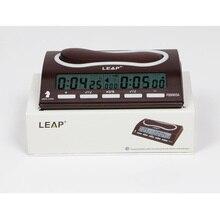 LEAP профессиональные электронные шахматные часы цифровые шахматные игры Таймер отсчета спортивные часы конкурс бонусные шахматы PQ9903