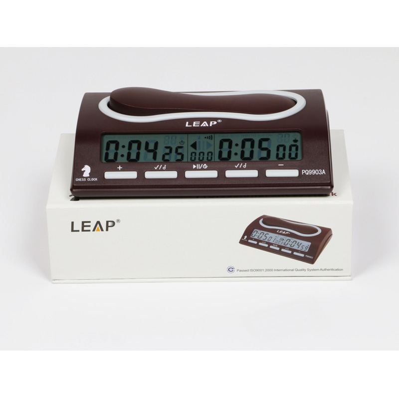 LEAP Professional Electronic Chess Clock Digital Chess Games Count Down Timer Sports Clocks Competition Bonus Chess PQ9903