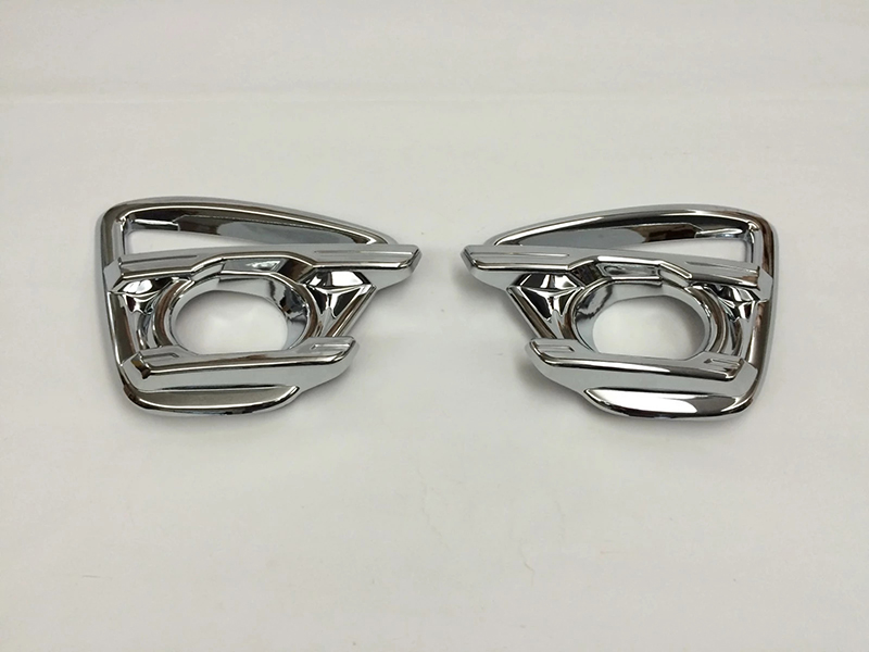 For <font><b>Mazda</b></font> CX-5 <font><b>CX5</b></font> CX 5 <font><b>2015</b></font> abs Chrome Styling Front Foglight Cover Car <font><b>Accessories</b></font> Front fog light box Car Stickers 2pcs image