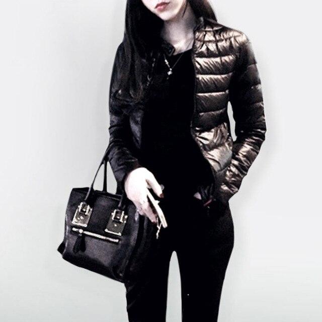 2019 נשים אביב חורף כותנה מעיל קצר סעיף להאריך ימים יותר כותנה מרופדת חם מעיל להאריך ימים יותר מקרית מעיילי דק נשי בגדים