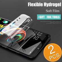 2PCS Soft Hydrogel Screen Protector For Samsung S10 S9 S8 Plus Front Film Liquid Note 8 9 A8 2018