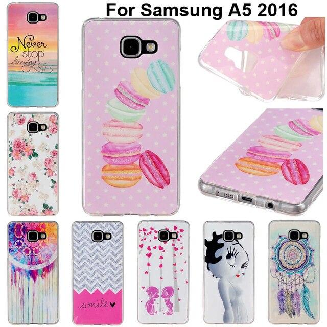 Filles Étui Souple Pour Samsung Galaxy A5 (2016) 2mf4Ec