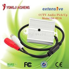 Sound monitor, Audio monitor,Sound Pickup Microphone Support CCTV monitoring and security system