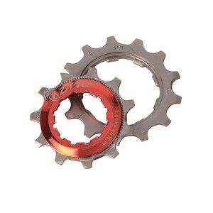 Image 3 - ZTTO 9 מהירות קלטת 11 40 T רחב יחס Freewheel אופני הרי MTB אופניים קלטת גלגל תנופה סבבת תואם עם sunrace