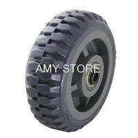 6 Diameter PVC Wheel W Anti Dust Cover For Swivel Casters