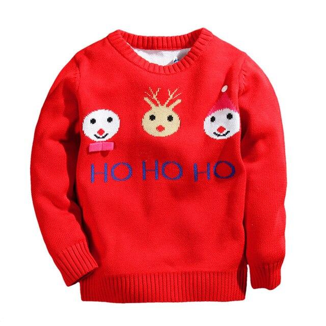 Kersttrui Kids.Baby Jongens Kids Kerst Trui Kinderen Trui Jongens Sneeuwpop Rode