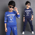 Kids Tracksuits For Boys Children Clothing Sets Long Sleeve Sports Suits Boys Outfits Spring Autumn School Uniforms 4 6 8 10 12Y