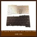 Оригинальный США Клавиатура для Ноутбука Dell Inspiron 630 M 640 M 1501 6400 9400 E1405 E1505 E1705 NC929 0NC929