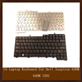 Original US Laptop Keyboard for Dell Inspiron 630M 640M 1501 6400 9400 E1405 E1505 E1705 NC929 0NC929