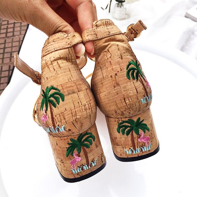 Talons Dame Peep Hauts Femme Pompes En Stiletto De Air 5cm Plantes Chic Oiseau Boucle À Chaussures Toe D'été Noce Plein 0Ovmw8Nn