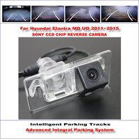 860 Pixels Car Rear Back Up Camera For Hyundai Elantra MD UD 2011~2015 Rearview Parking 580 TV Lines Dynamic Guidance Tragectory