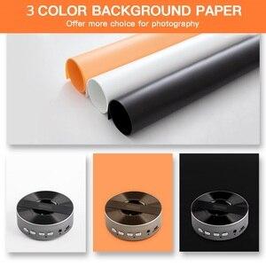 Image 4 - Travor写真スタジオライト60センチメートル48 75wフォトライトテント卓上撮影ソフトボックスと3色の背景写真ボックス