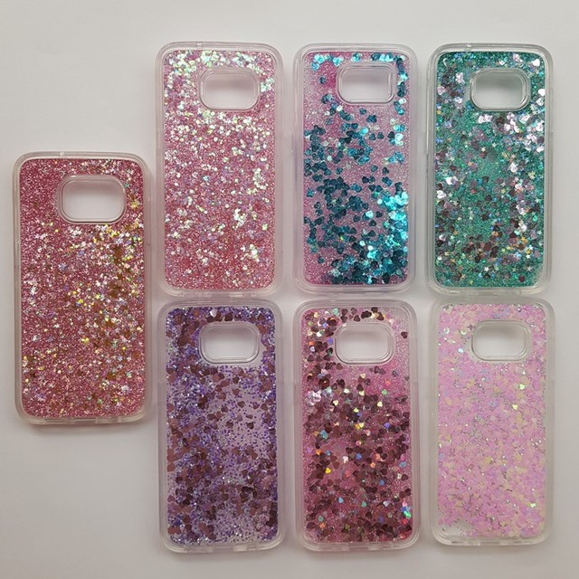 glitter samsung galaxy s7 edge case