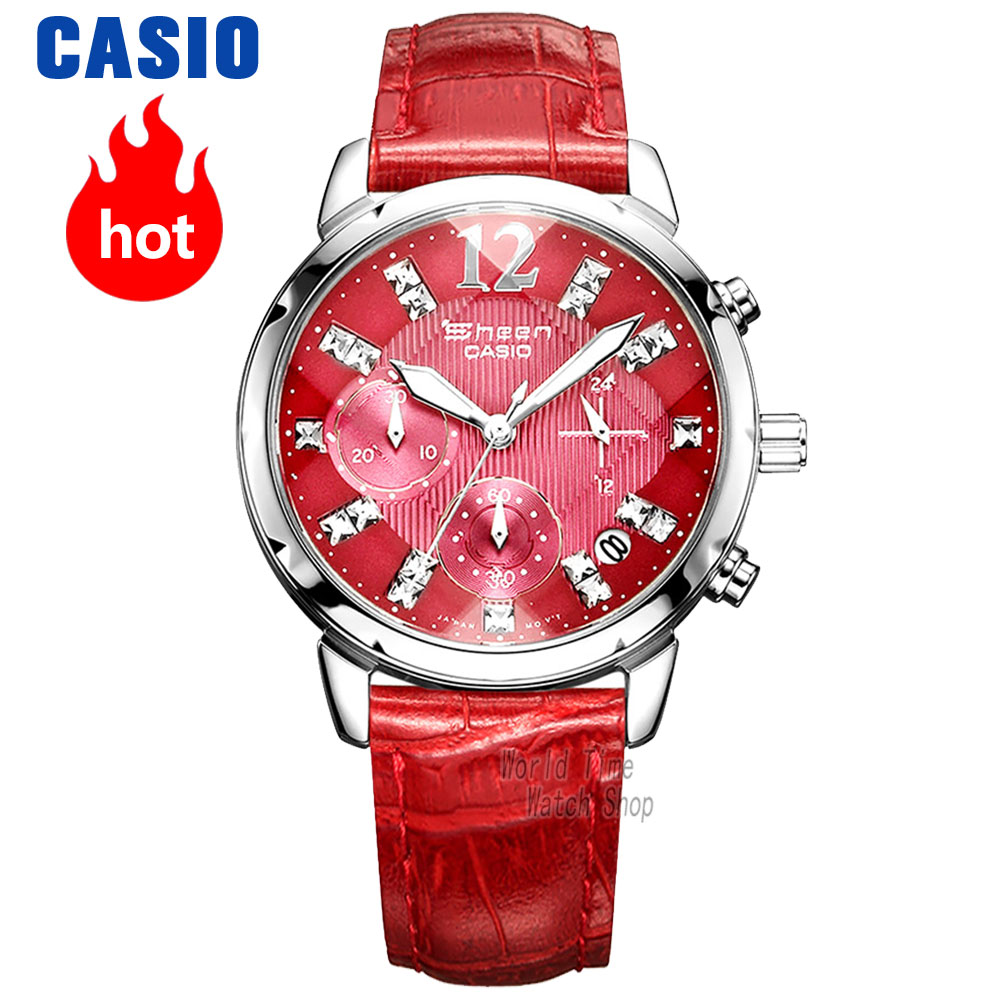 Casio Watches Sheen Series Fashion Women's Watches SHN-5010L-4A SHN-5010L-4A2 casio watch casual business waterproof quartz ladies watch shn 4019dp 4a shn 4019dp 7a shn 4019lp 7a