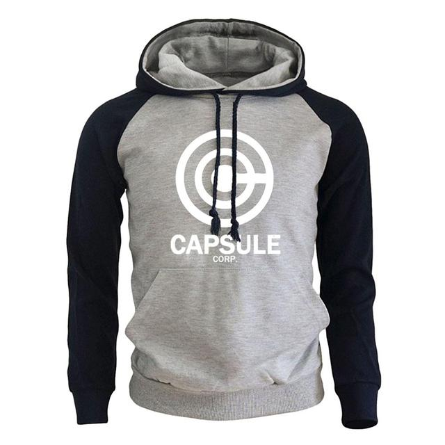 DRAGON BALL Capsule Corp Print Hoodie