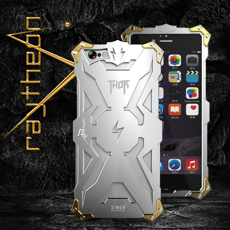 Energy Armor Amazing Design for Apple Iphone6 6s case Waterproof Shockproof aviation Aluminum alloy metal shell free shipping4.7