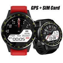 F1 GPS Sports Smartwatch Phone Bluetooth Heart Rate Sleep Monitor Smart Watch Support Sim TF Card Camera Multi Sports Model