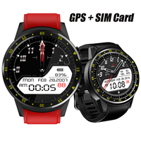 F1 GPS Sports Smartwatch Phone Bluetooth Heart Rate Sleep Monitor Smart Watch Support Sim TF Card Camera Multi Sports Model