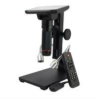HDMI USB Цифровые микроскопы 5 дюймов HD на расстояние до объекта электронный видео Microscopio телефон Ремонт паяльной THT SMD Лупа