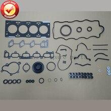 D4EA Двигатель Полный комплект прокладок комплект для Hyundai SANTA Fe/Tucson 2.0L 1991cc 2001-2010 20910-27A00 49H01 KM-H01 50214600
