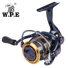 W.P.E SC16-30F/40F High Speed Spinning Reel 5.5:1 9+1 Ball Bearings Fishing Tackle All Metal Carp Wheel